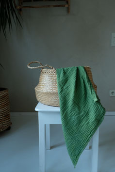 Organic Cotton Swaddle - Forest