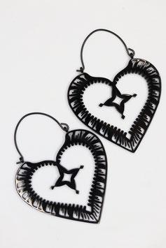 Creolen Heart Style black