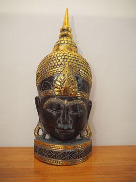 Buddha Wandmaske, mit Standfuss -MK 5-