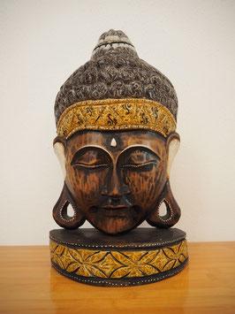 Buddha Wandmaske, mit Standfuss -MK 11-