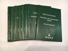 Libretti  Rolex service moderni