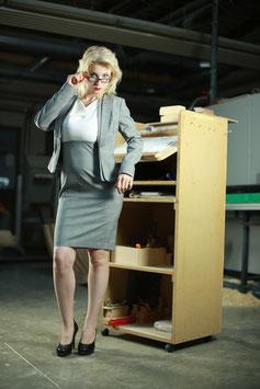 Business Kleid mit Blazer
