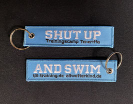 Anhänger SHUT UP AND SWIM