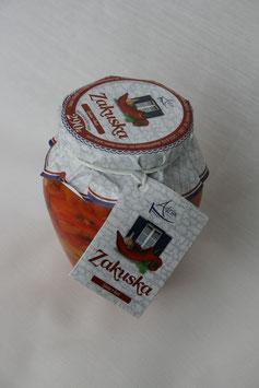 Zakuska scharf (Paprikavorspeise) - Adria 290g