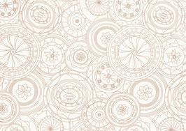 Resma papel seda blanco 17 gr. diseño 70x50 Ref. 151 S 12