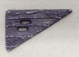 Paarse driehoek knoop van Roos
