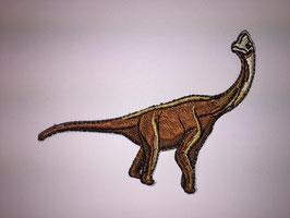 Bruine Brontosaurus dinosaurus applicatie