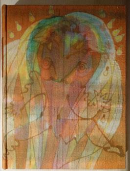 Gustave FLAUBERT, La Tentation de Saint Antoine, 1942, illustrations de DARAGNES, reliure en soie