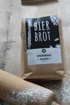 Bierbrot 1kg.- Spezialität aus der Elzacher Mühle im Schwarzwald - Backmischung