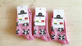 Panda Socken 3 Paar (Grösse passt 24-27)  (ähnliche Qualität wie Happy Socks - zu fairen Preisen)