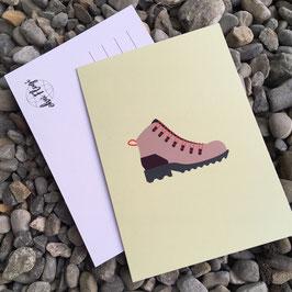 """Postkarte """"Schuh"""""""