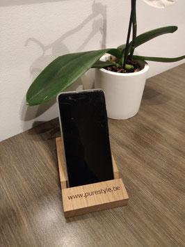 Phone Holder - Oak