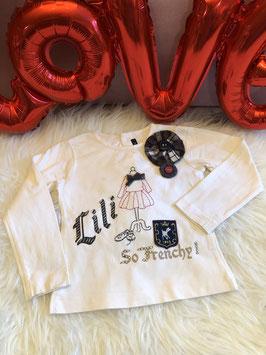 Witte shirt - LILI GAUFRETTE - maat 98