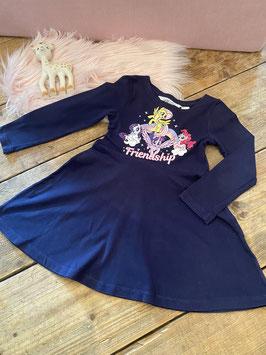 Zwart jurkje Friendship van H&M maat 92