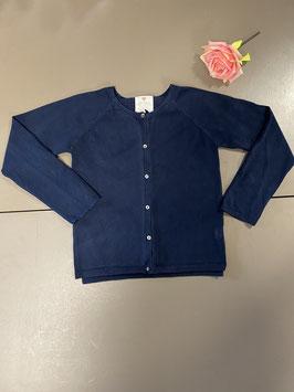 Donkerblauw vest van Zara Girl in maat 128