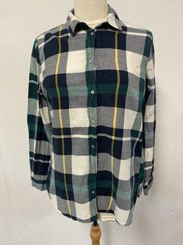 Geblokte blouse van H&M in maat 34