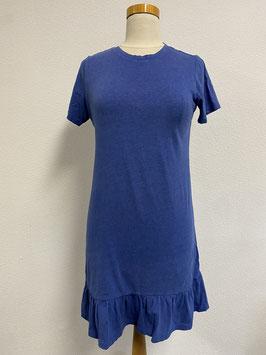Zwierig zomers blauw jurkje van eksept Maat XS