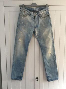 Lichtblauwe spijkerbroek van Blue Blood maat W30/L 32