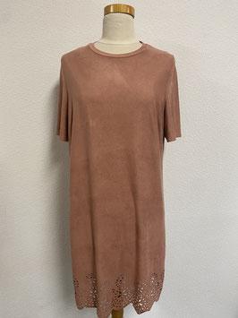 Oud roze jurkje in maat XL