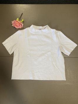 Wit shirt van Zara Trafaluc maat M