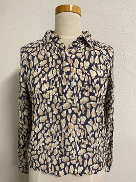 Mooi shirt in lente kleuren van Pieces Maat S
