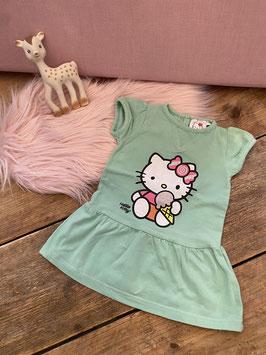 Lief jurkje van Hello Kitty maat 74