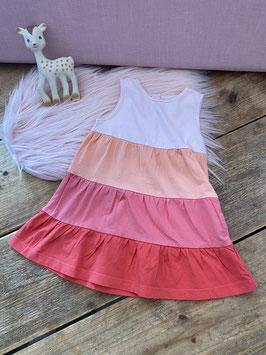 Gestreept zomers jurkje van H&M maat 80
