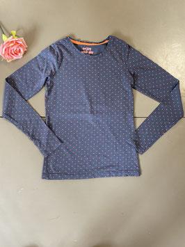 Shirt met lange mouwen van Hema in maat 146