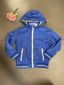 Blauwe jas van H&M maat 128