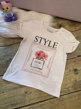 Leuk roze shirt van Primark in maat 128