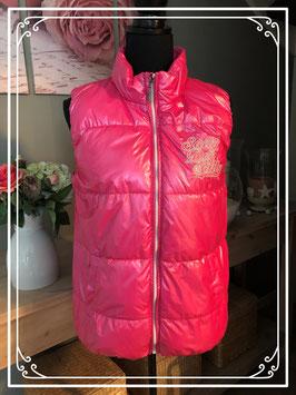 Fuchsia roze glimmende bodywarmer van Salty dog-maat 176