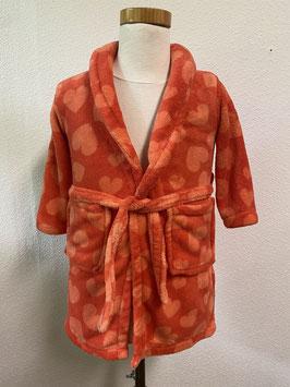 Heel veel liefde in deze kleine badjas van Bodyzone Maat92-98