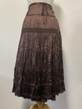 Nieuw! Elegante bruine rok van Yessica maat 42