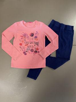 Sweatshirt met legging van Cakewalk Maat 122