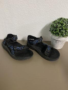 Zwarte Teva sandalen voor jongens Maat 30