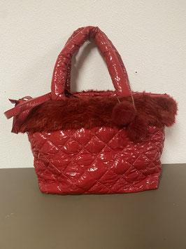 Grote opvallende rode tas