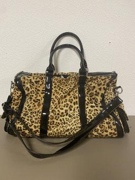 Ruime tas met leuke luipaard print
