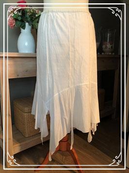 Witte rok met punten van saopaulo-maat 44