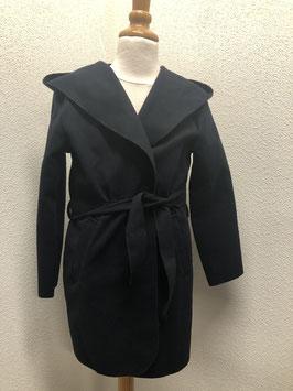 Nieuw! Prachtige donkerblauwe jas in maat 146/152
