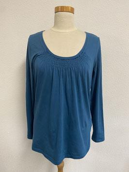 Shirt kobaltblauw van Bonaparte Maat L