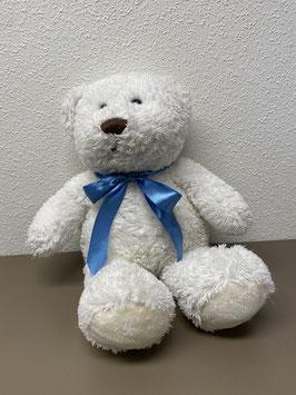 Sprekende witte knuffel beer