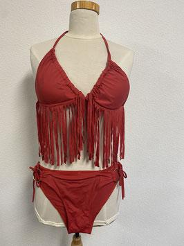 Mooie rode bikini in maat 34/36