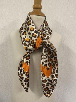 Deftige sjaal met tijgerprint