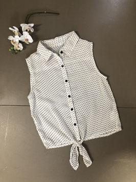 Leuke zomerse blouse in maat 146/152