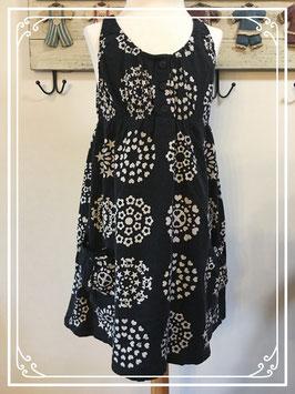 Zwart wit jurkje merk H&M - maat 122