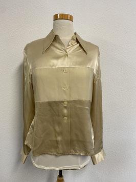 Prachtige zijde blouse van Bogie maat 40