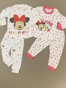 2 leuke pyjama's van M. Dian xi met Minnie Mouse in maat 92