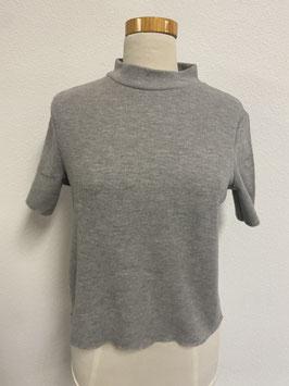 Grijs shirt van Zara Trafaluc maat M