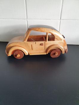 Houten model auto van 25 cm