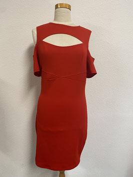 Elegante rode jurk in maat 40